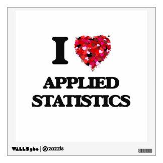 I Love Applied Statistics Room Decal