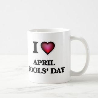 I Love April Fools' Day Coffee Mug