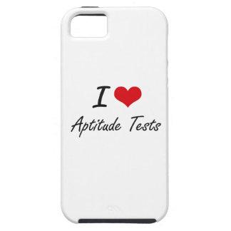 I Love Aptitude Tests Artistic Design iPhone 5 Cover