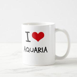 I Love Aquaria Coffee Mug