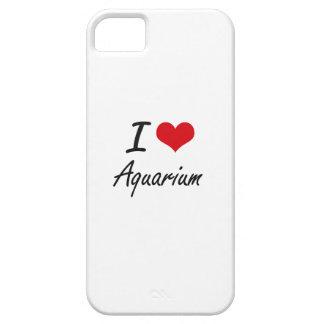 I Love Aquarium Artistic Design iPhone 5 Cases