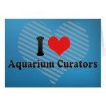 I Love Aquarium Curators Cards