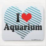 I Love Aquarium Mouse Pad