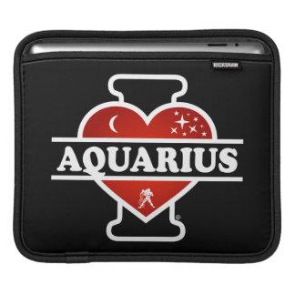 I Love Aquarius iPad Sleeves
