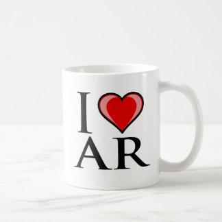 I Love AR - Arkansas Coffee Mug