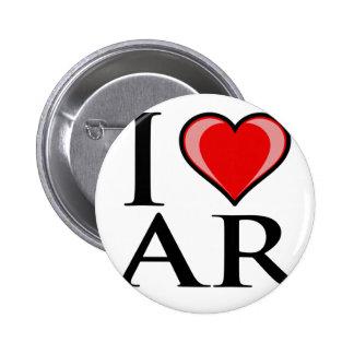 I Love AR - Arkansas Pins