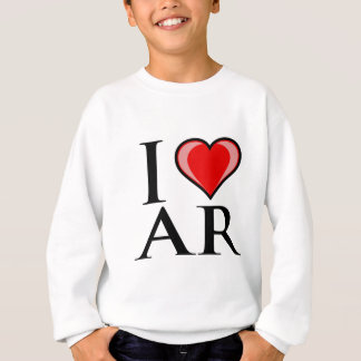 I Love AR - Arkansas Sweatshirt