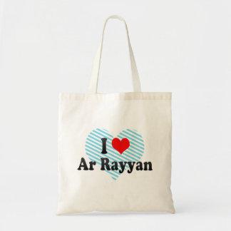 I Love Ar Rayyan, Qatar Budget Tote Bag