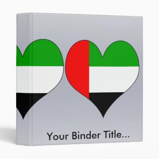 I Love Arab Emirates Binder