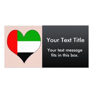 I Love Arab Emirates Photo Greeting Card