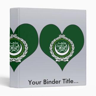 I Love Arab League 3 Ring Binder