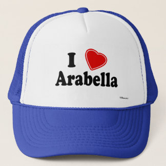 I Love Arabella Trucker Hat