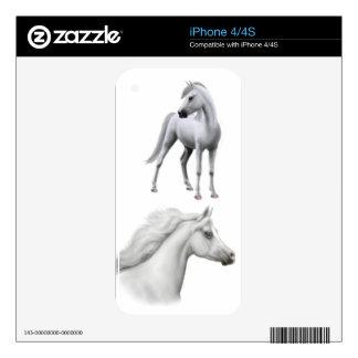 I Love Arabian Horses Zazzle Skin iPhone 4 Skin
