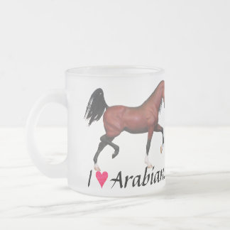 I Love Arabians Heart Arabs Horse Art Coffee Mug