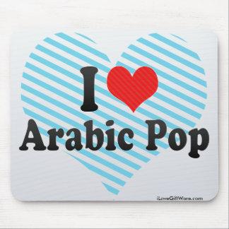 I Love Arabic Pop Mouse Pads