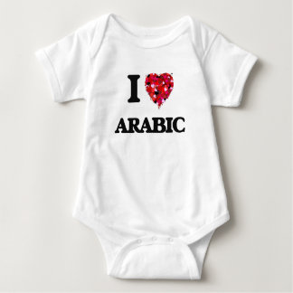 I Love Arabic T Shirt