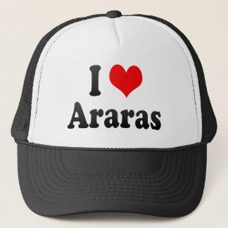 I Love Araras, Brazil. Eu Amo O Araras, Brazil Trucker Hat