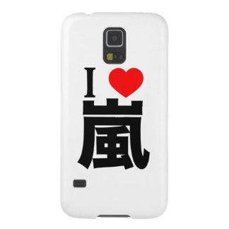 I love Arashi Galaxy S5 Case