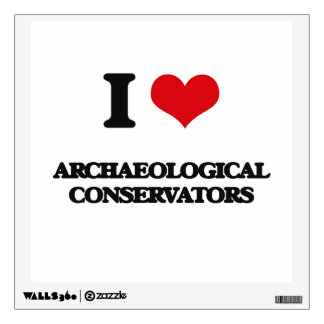 I love Archaeological Conservators Wall Graphics