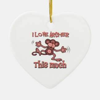 I love Archer Ornament