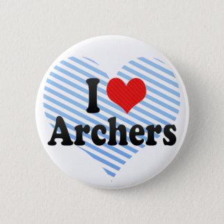I Love Archers Button