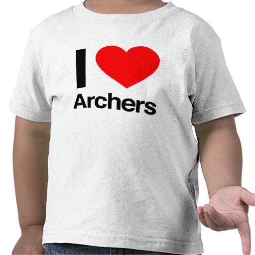 i love archers shirt