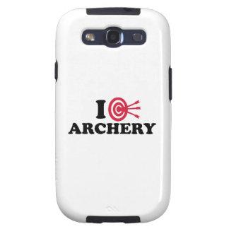 I love Archery bow arrow Galaxy SIII Covers