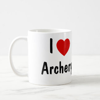 I Love Archery Coffee Mug