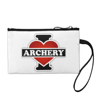 I Love Archery Coin Wallet