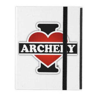 I Love Archery iPad Folio Case