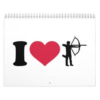 I love Archery Calendar