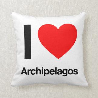 i love archipelagos pillow