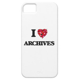 I Love Archives iPhone 5 Cases