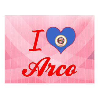 I Love Arco, Minnesota Postcard
