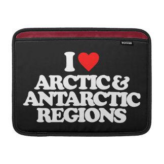I LOVE ARCTIC & ANTARCTIC REGIONS SLEEVE FOR MacBook AIR