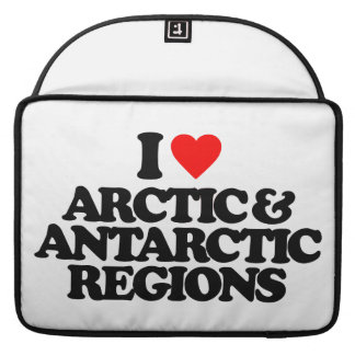 I LOVE ARCTIC & ANTARCTIC REGIONS SLEEVE FOR MacBook PRO
