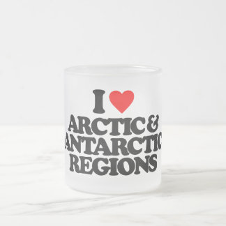 I LOVE ARCTIC & ANTARCTIC REGIONS COFFEE MUG