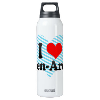 I Love Arden-Arcade, United States 16 Oz Insulated SIGG Thermos Water Bottle