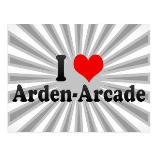 I Love Arden-Arcade, United States Postcard