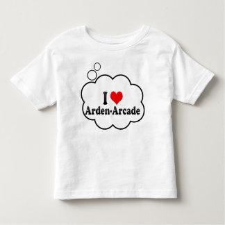 I Love Arden-Arcade, United States T-shirts