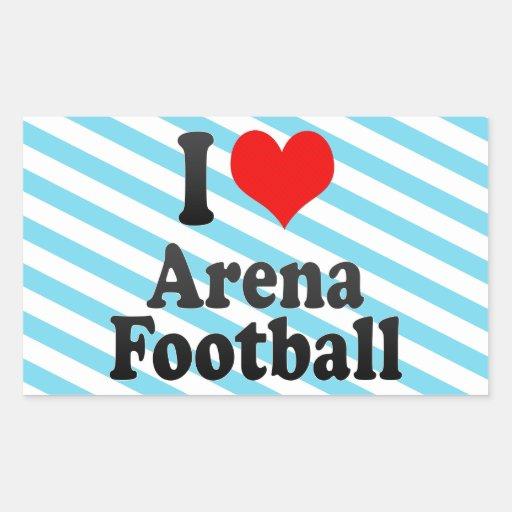 I love Arena Football Stickers