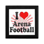 I love Arena Football Trinket Box