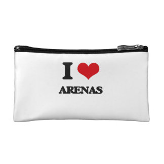 I Love Arenas Cosmetic Bags