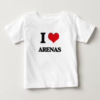 I Love Arenas Tshirts