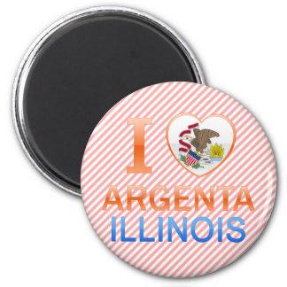 I Love Argenta, IL Fridge Magnet