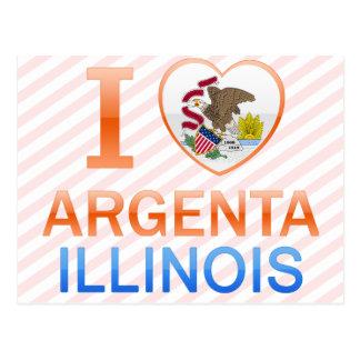 I Love Argenta, IL Post Card