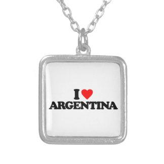I LOVE ARGENTINA PENDANTS