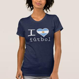 I Love Argentinian Futbol T-Shirt