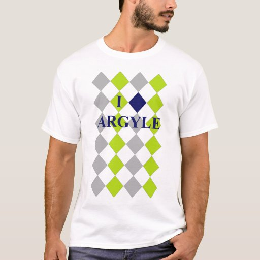 I Love Argyle - Men's! T-Shirt