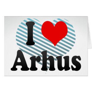 I Love Arhus, Denmark Cards
